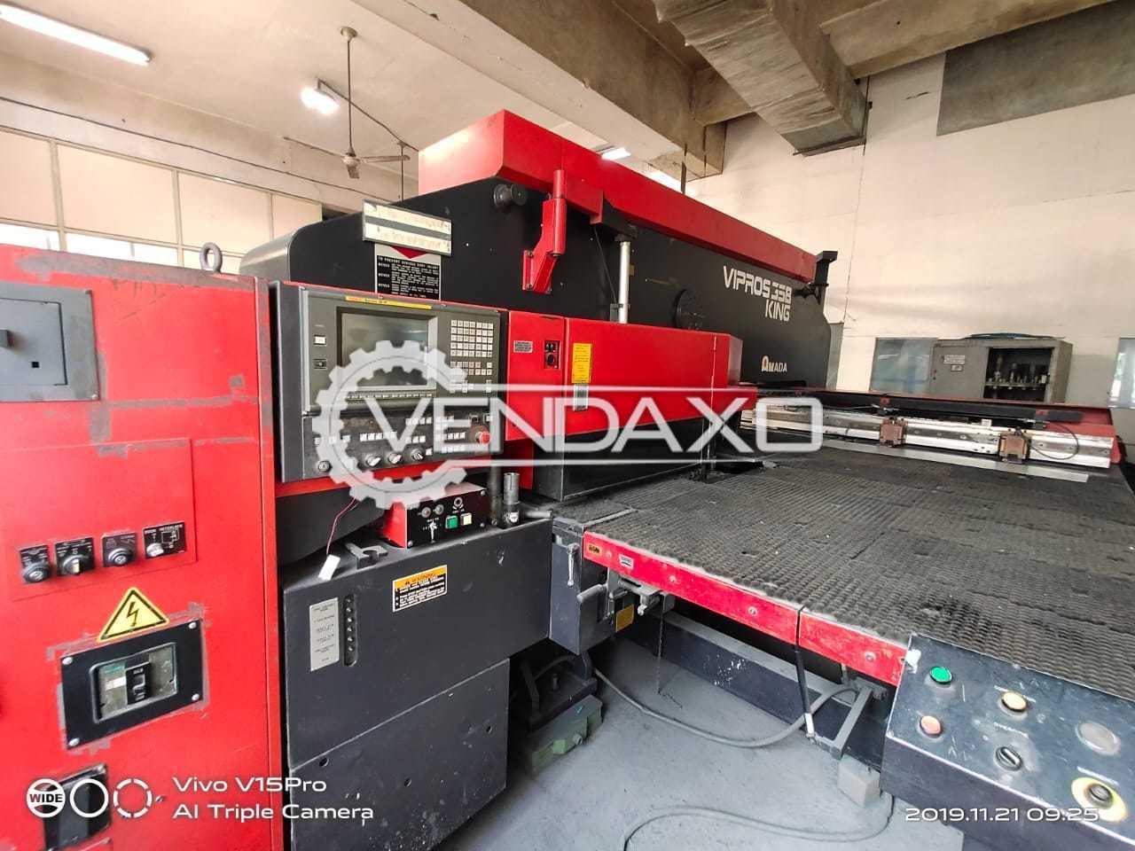 Amada Vipros 358 King CNC Turret Punching Machine - 2000 x 1270 mm