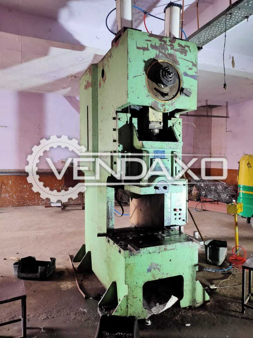 For Sale Used Power Press Machine - Bed Size -  900 x 600 mm