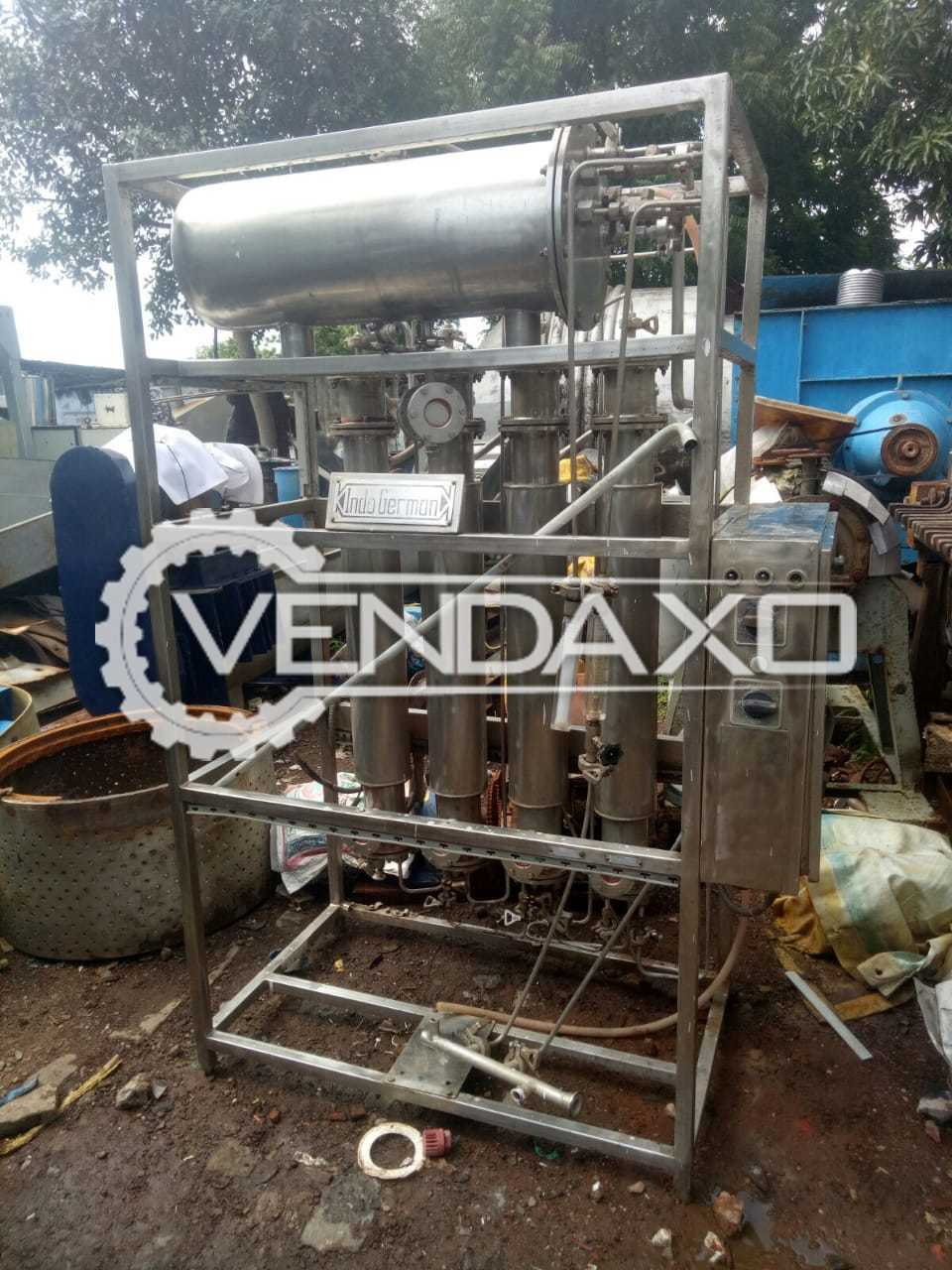 For Sale Used Multi Column Distillation Plant - 80 Liter