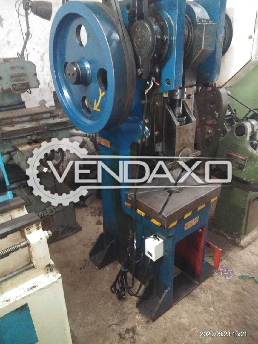 Ambica C Type Double Gear Power Press - 20 Ton