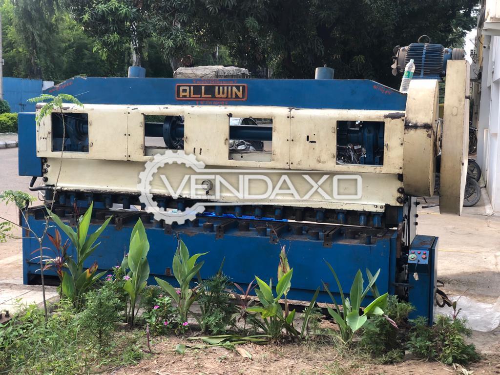 ALLWIN Shearing Machine - 3 Meter x 8 mm