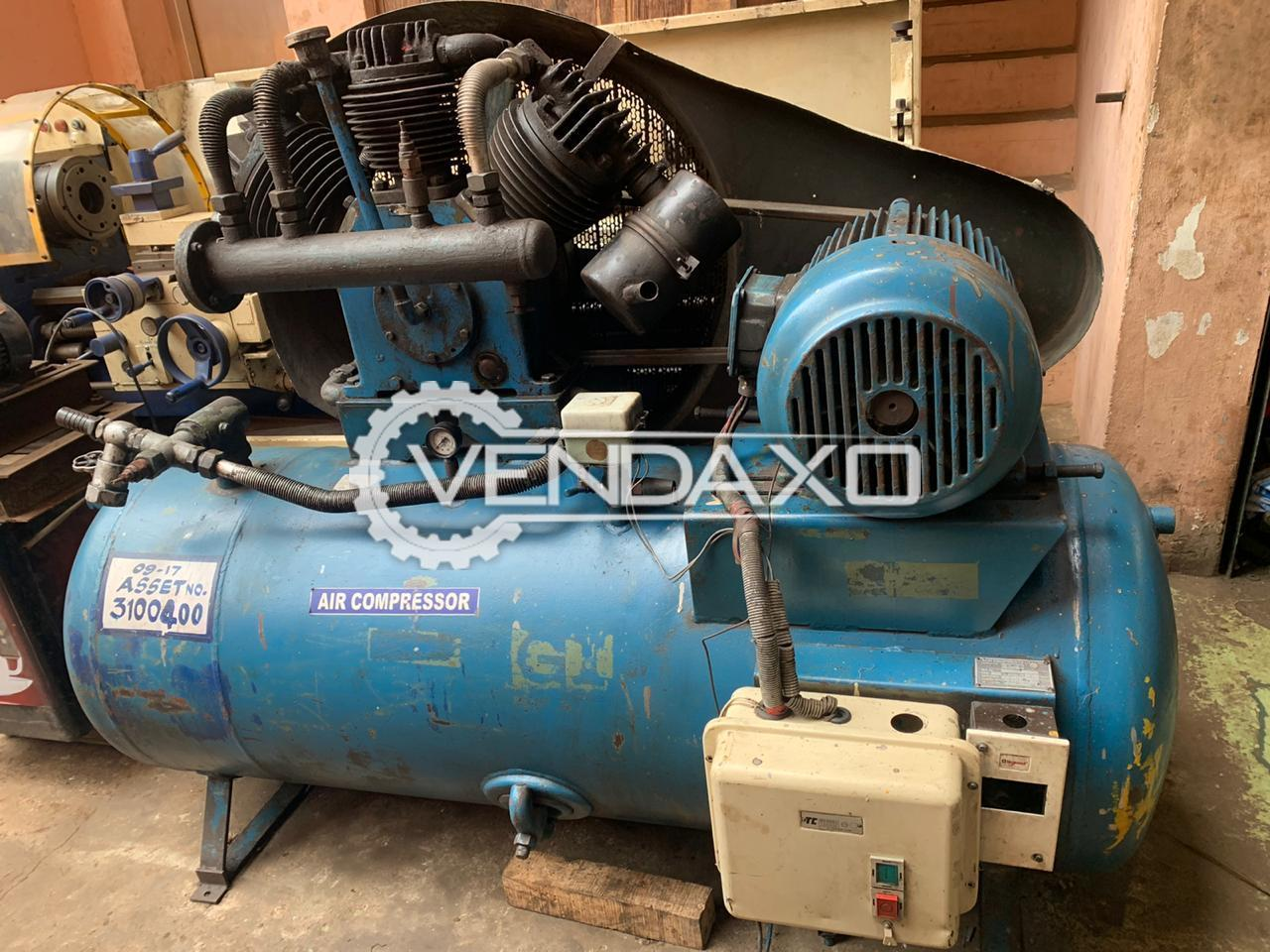 For Sale Used Elgi Air Compressor - Motor - 15 HP