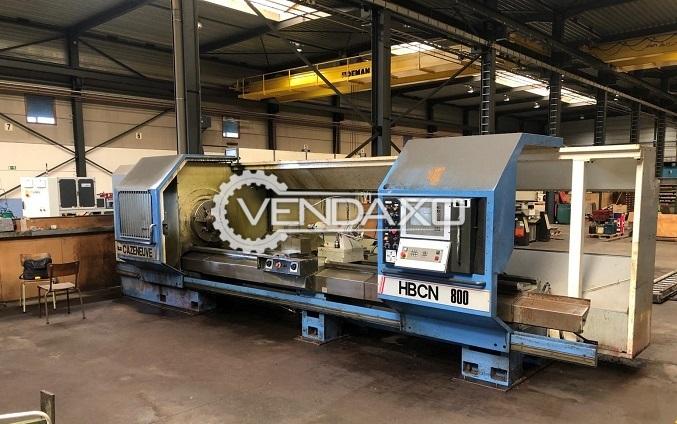 Cazeneuve HBCN 800 CNC Lathe Machine - Length - 4000 mm
