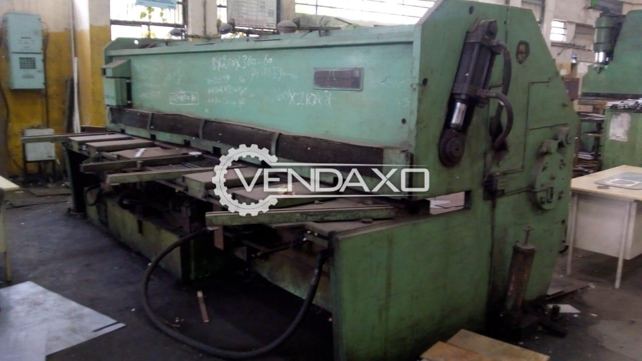 For Sale Used Hydraulic Shearing Machine - 4000 x 13 mm