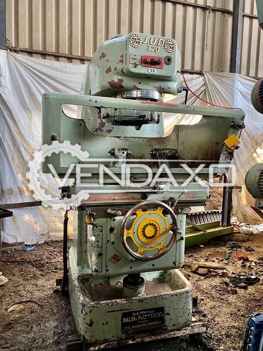 Demm 320 Gear Shaper Machine - 200 mm, 4 Module