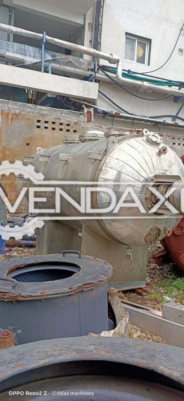 Rotary Vacuum Dryer (RVD) - 4 KL, GMP Model