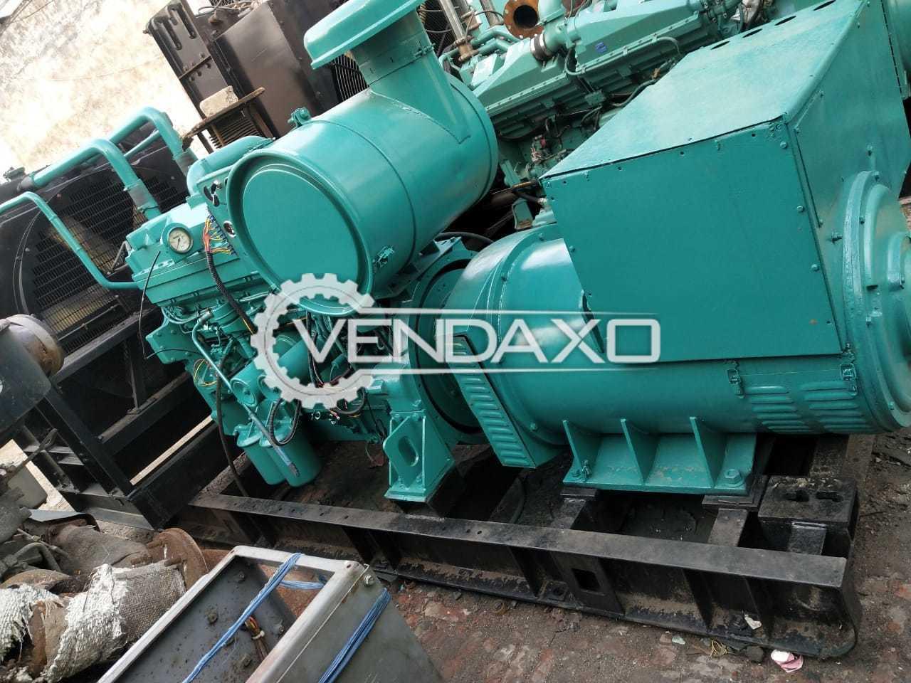 Cummins KTA-19 Diesel Generator - 500 Kva, 2000 Model