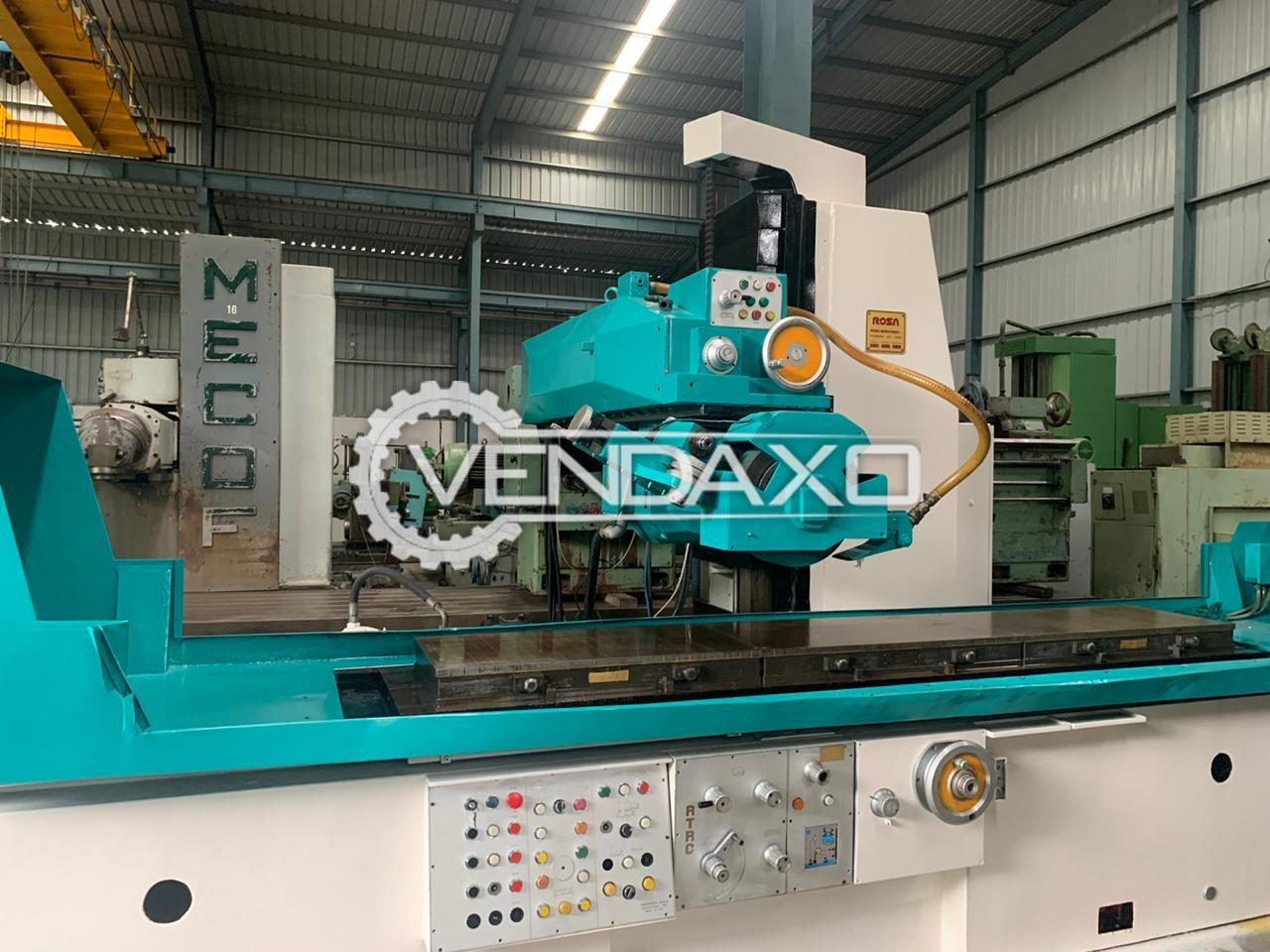 Mecof Surface Grinding Machine - Magnetic Size - 3000 x 500 mm
