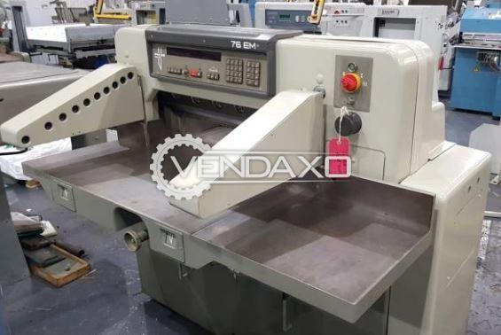 Polar Mohr 76 EM Paper Cutting Machine - 76 CM