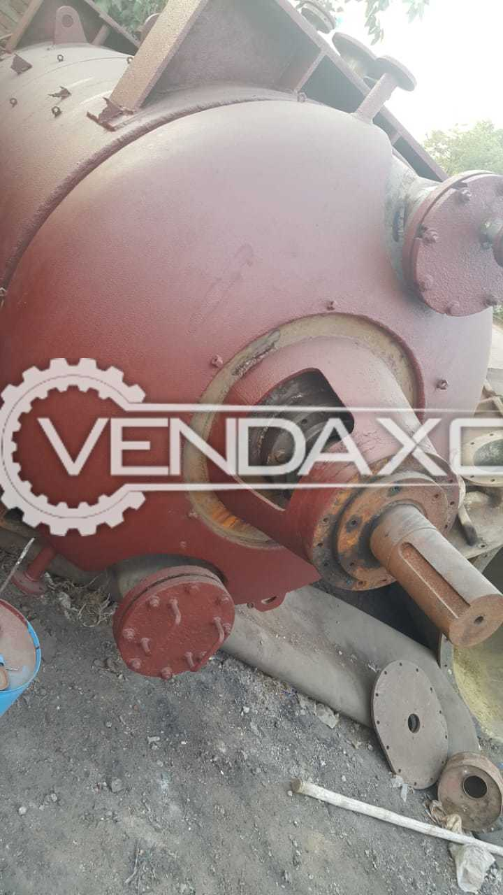 SS 316 Rotary Vacuum Paddle Dryer (RVPD) - 5.5 KL