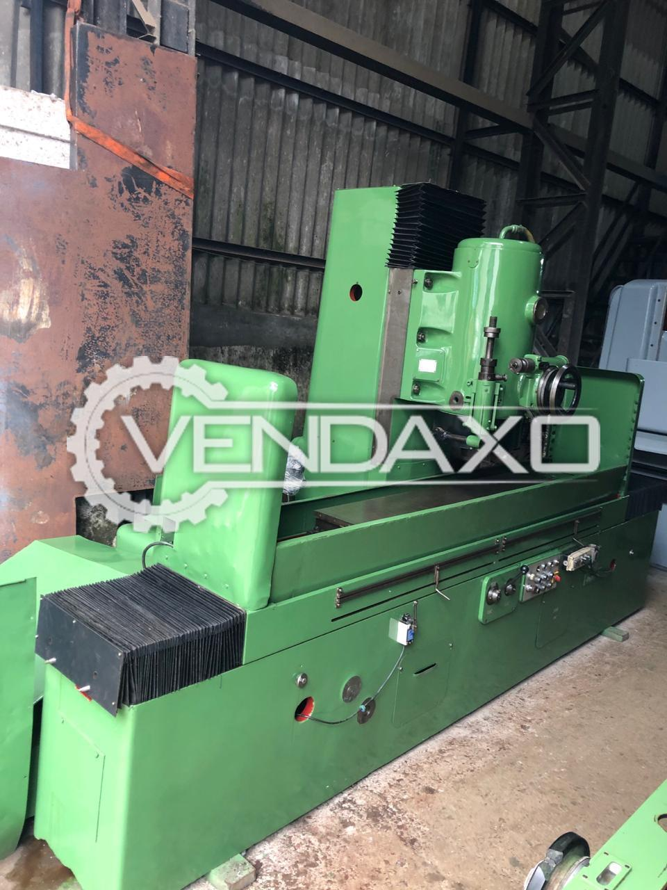 HMT Rotary Surface Grinding Machine - Table Size - 1500 x 300 mm