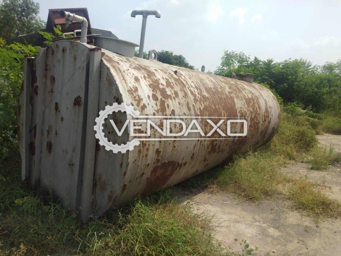 For Sale Used Storage Tank - 17 KL