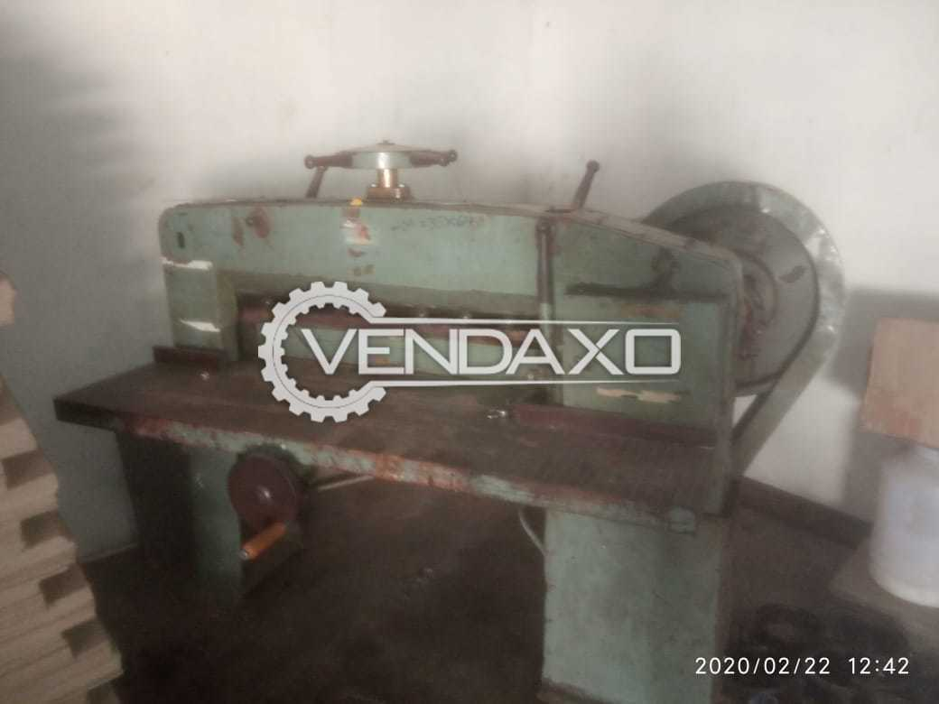 For Sale Used Semi Automatic Paper Cutting Machine - 36 Inch