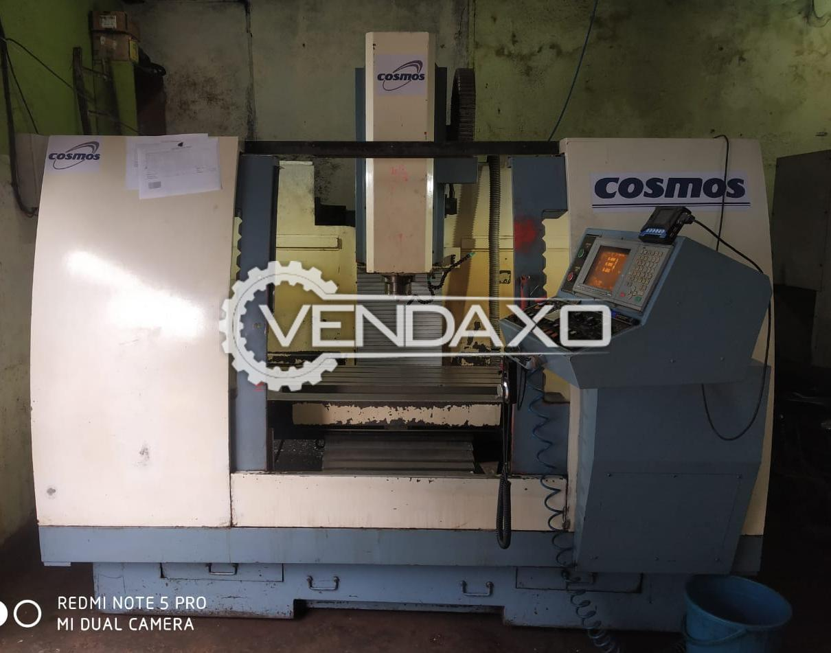 COSMOS CNC Vertical Machining Center VMC - 800 X 550 X 600 mm