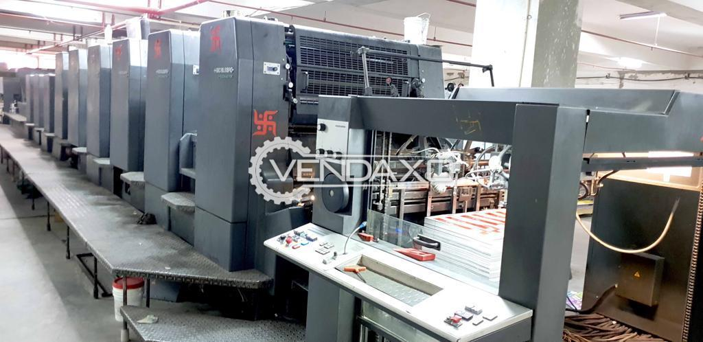 Heidelberg CD 102-6+LYLX Offset Printing Machine - 28 x 40 Inch, 6 Color