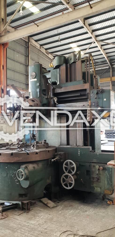 Schiess Vertical Turret Lathe VTL Machine - Chuck Diameter - 1600 mm