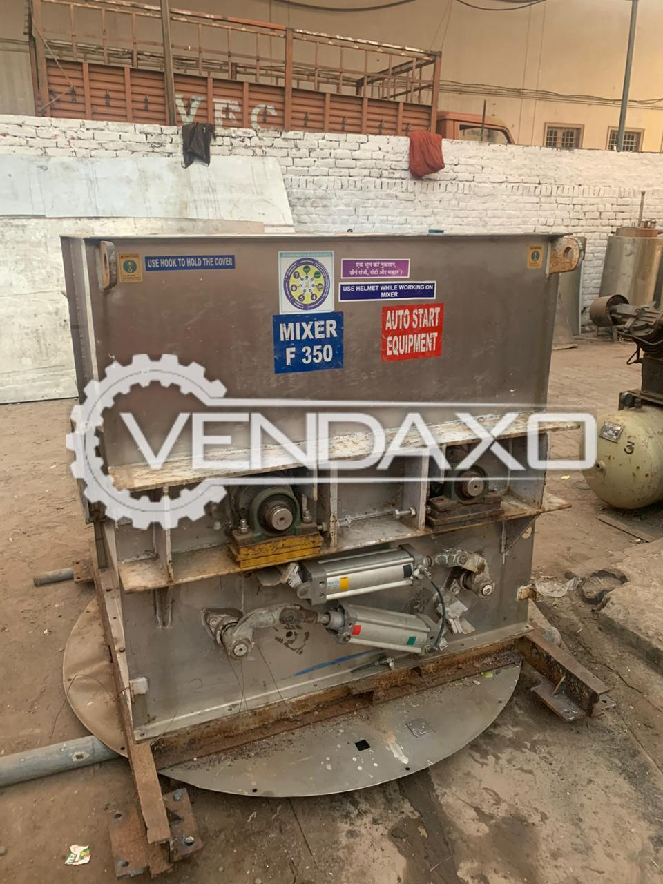 For Sale Used Paddle Blender Mixer - 1 Ton