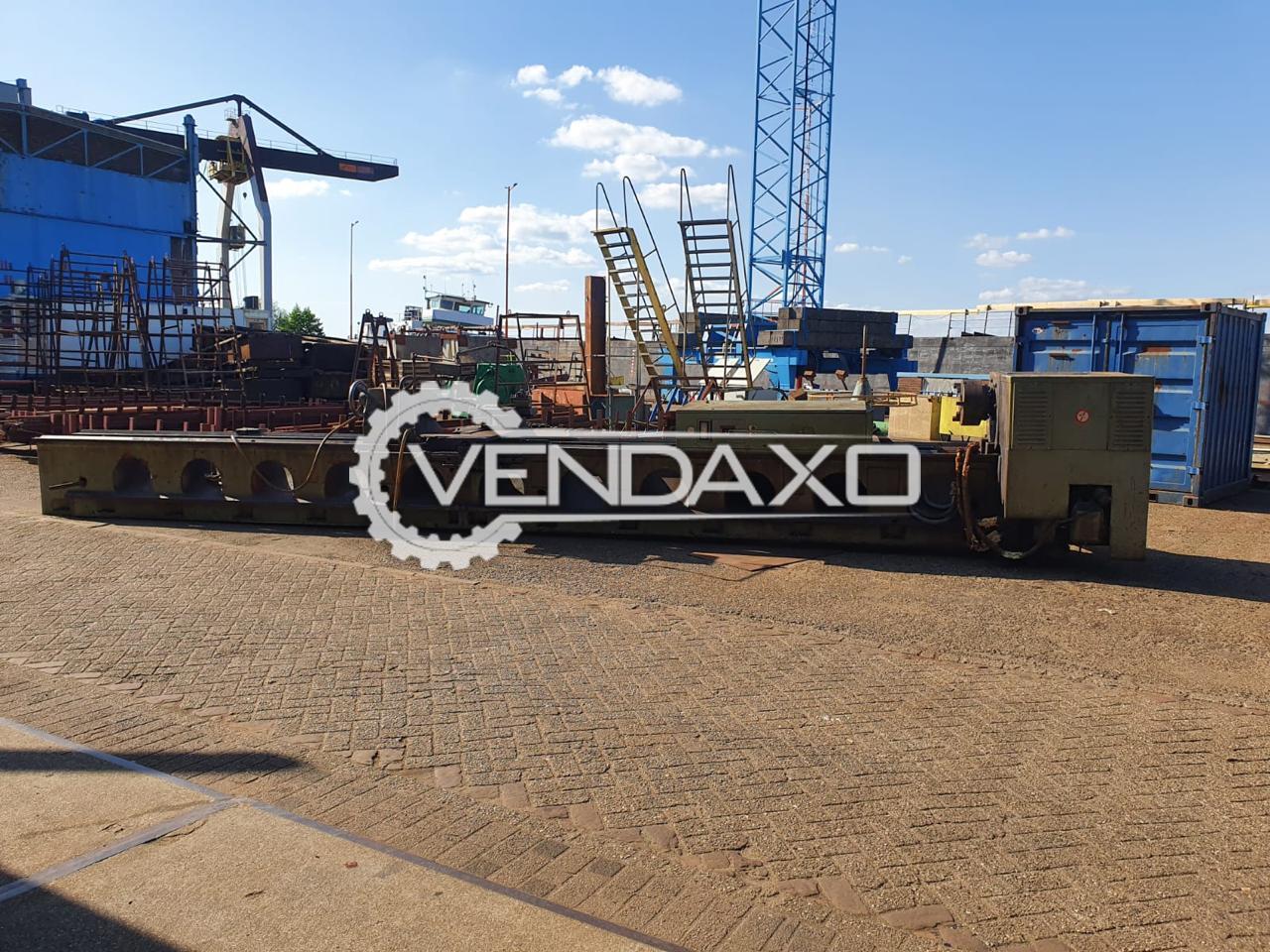 TOS SUS 80/8000 Lathe Machine - 8000 x 800 mm