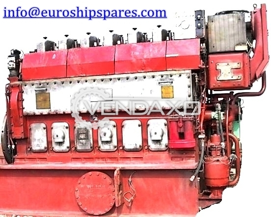 For Sale Used MAK 6M20 Engine - 930 KW
