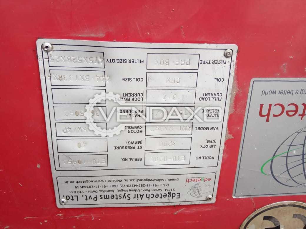 CAREER Brand HVAC 180 Tr - 2 Units (Total 360 Tr)
