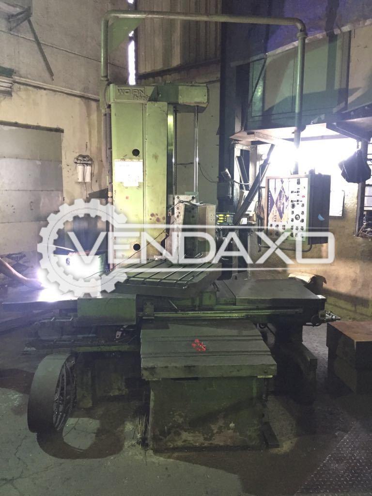 Wotan Boring Machine - Spindle Size - 105 mm