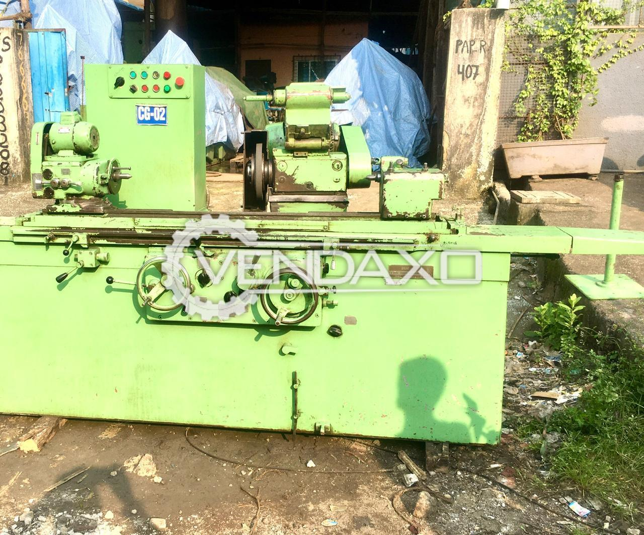 TOS Cylindrical ID & OD Grinding Machine - Length - 1 Meter