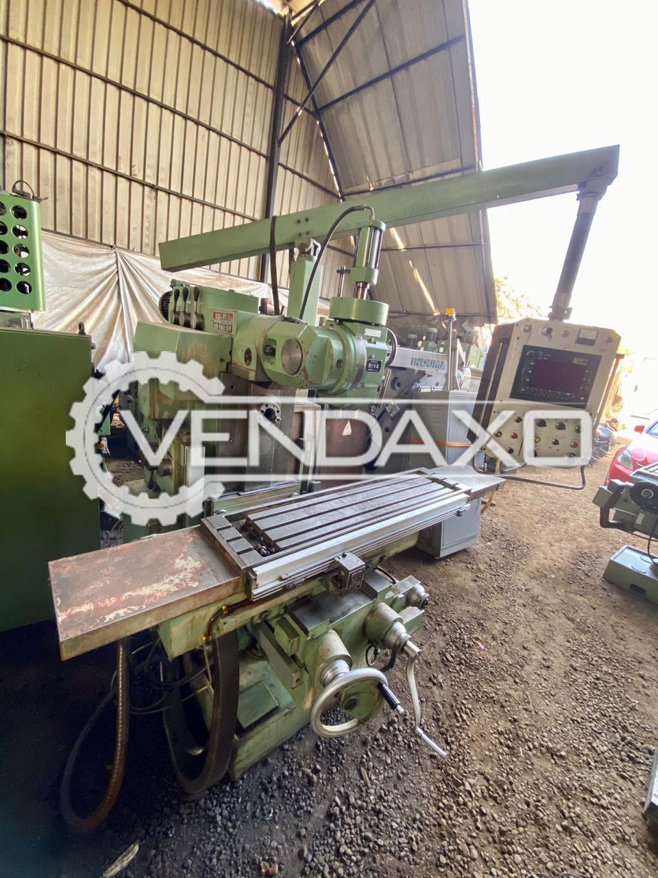 Rigiva RH-140-BM Twin Spindle Milling Machine - Table Size - 1600 x 400 mm