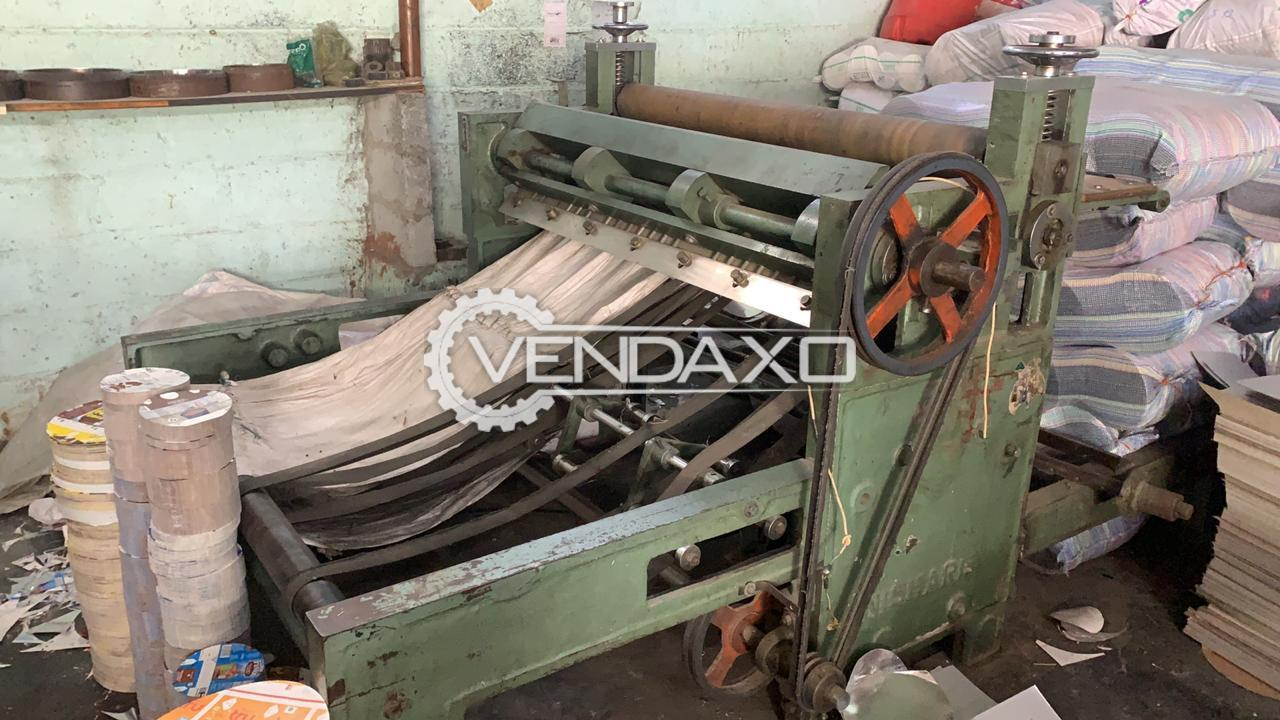 For Sale Used Real Cutting Machine - 55 Inch