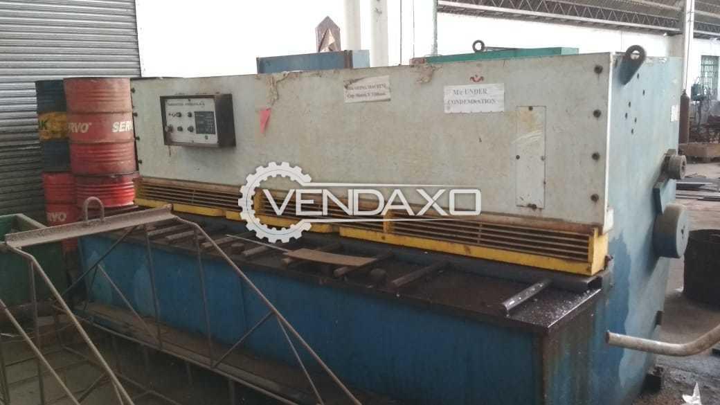 Hindustan hydraulics Shearing Machine - 3000 x 6 mm