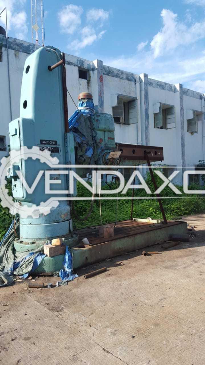 MAS VR10 Radial Drill Machine - Spindle Diameter - 100 mm