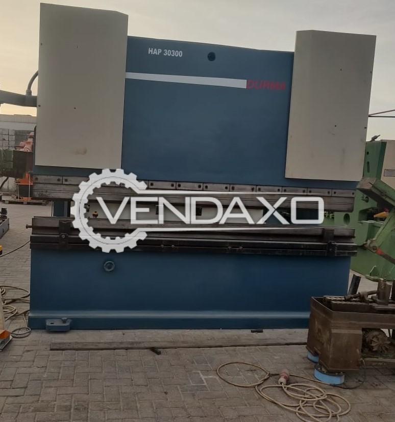 Durma HAP 30300 Press Brake Machine - 300 Ton x 3050 mm