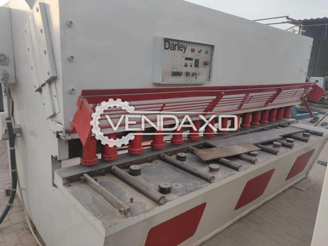 Darley GS Shearing Machine - 3100 x 20 mm