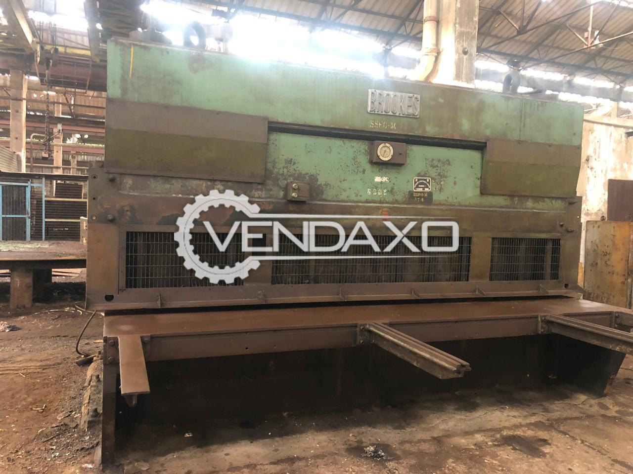 For Sale Used Shearing Machine - 4000 x 18 mm