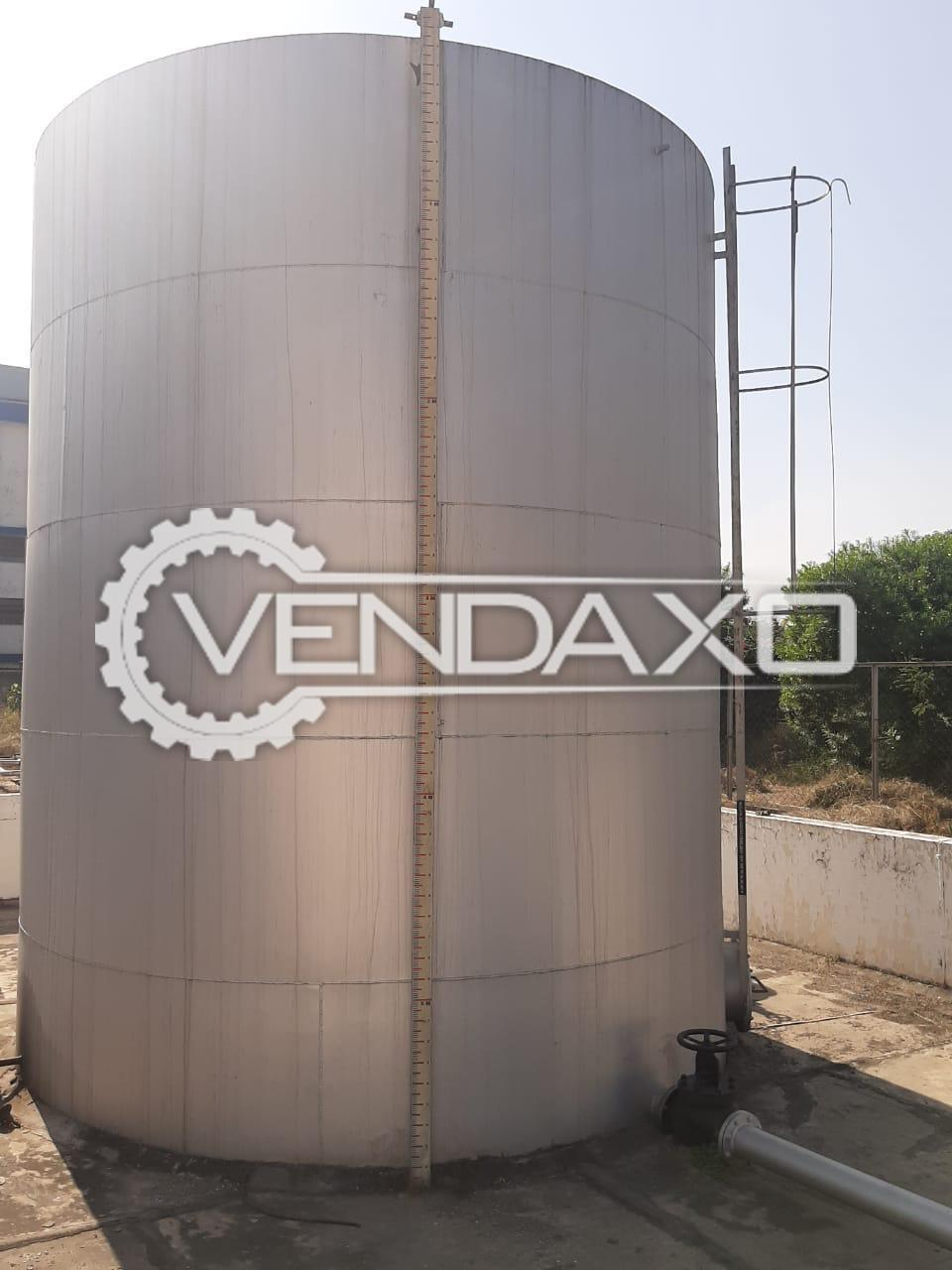 For Sale Used MS Storage Tank - 100 KL