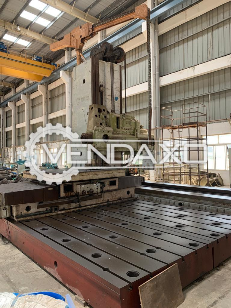 Skoda W160F Floor Boring Machine - Floor Plate Size - 4000 x 8000 mm