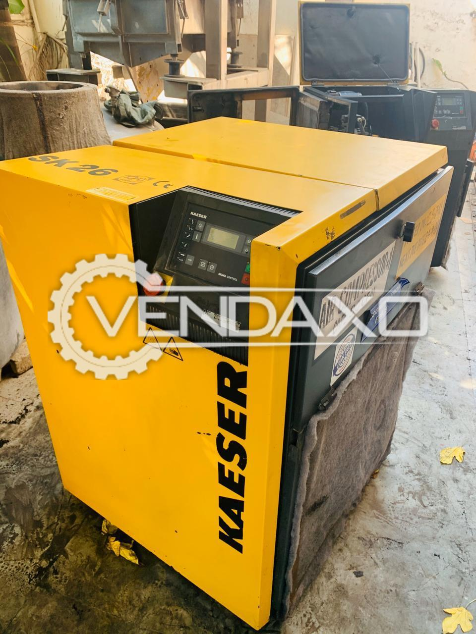 5 Set OF Kaeser Rotary Screw Air Compressor - 20 HP