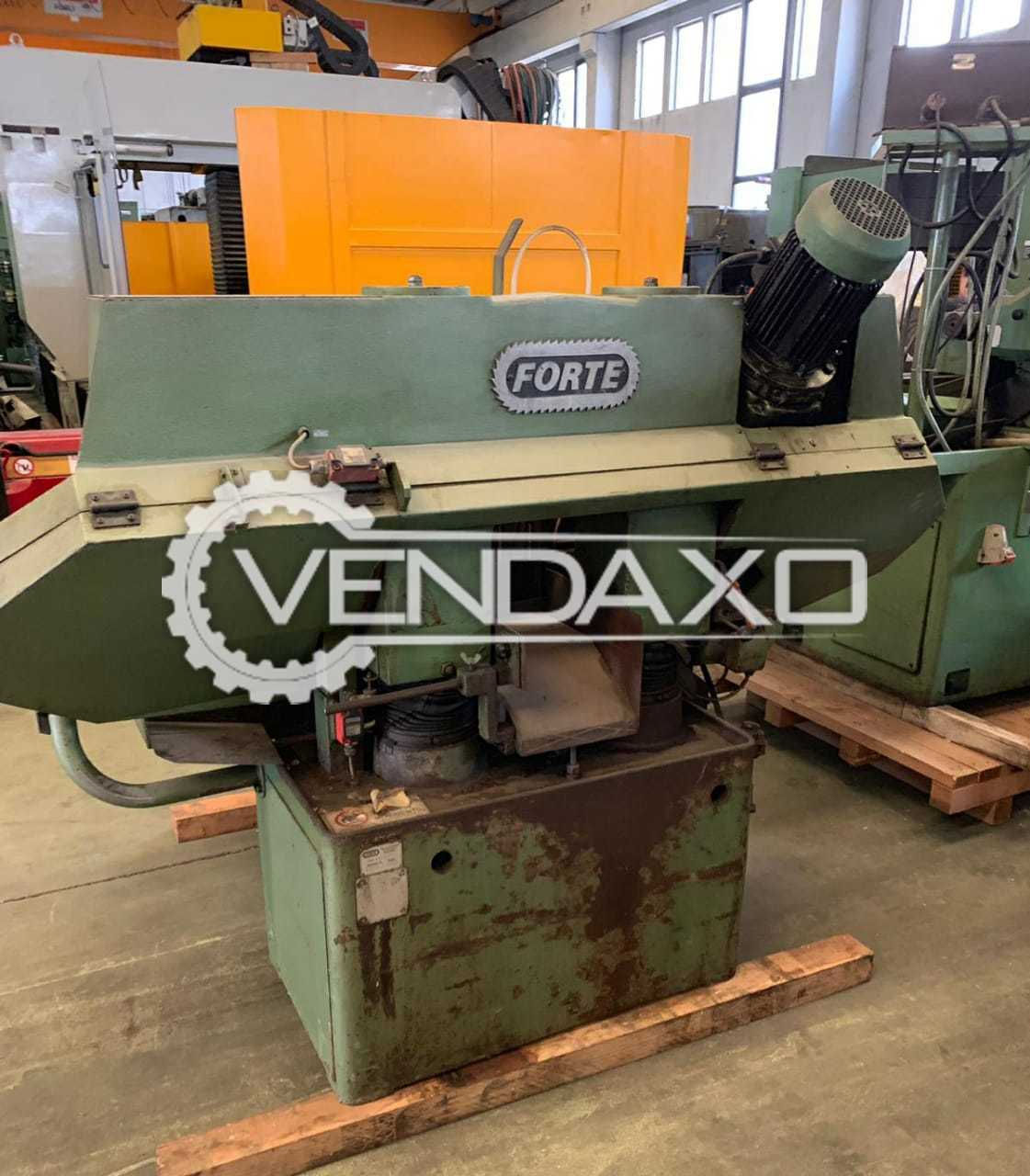 Forte Automatic Bandsaw Machine - 250 mm, Double Column