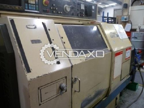 For Sale Used Miyano BNC34S CNC Lathe Machine - 6 Station