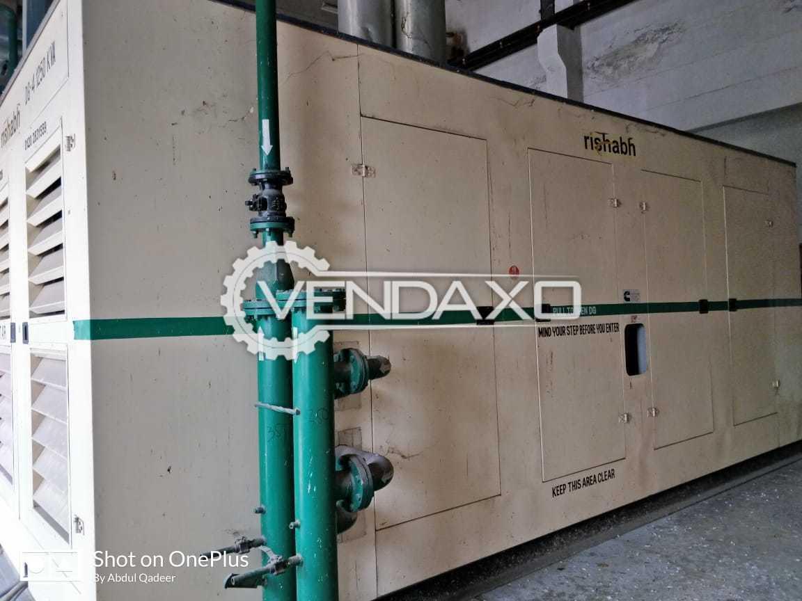 3 Set OF Rishabh Diesel Generator - 1250 Kva
