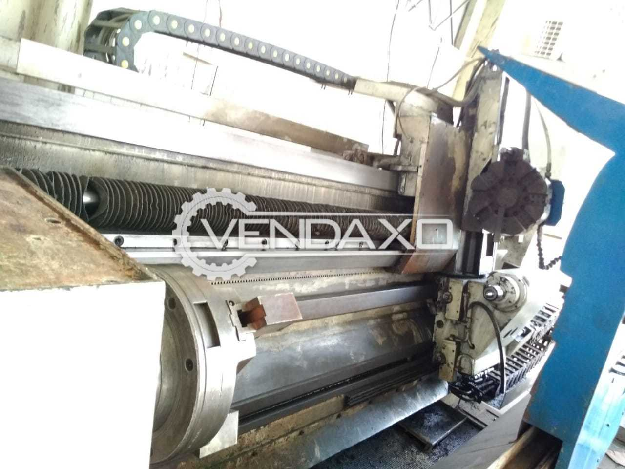 WMW CNC Lathe Machine - 2 Meter x 600 mm