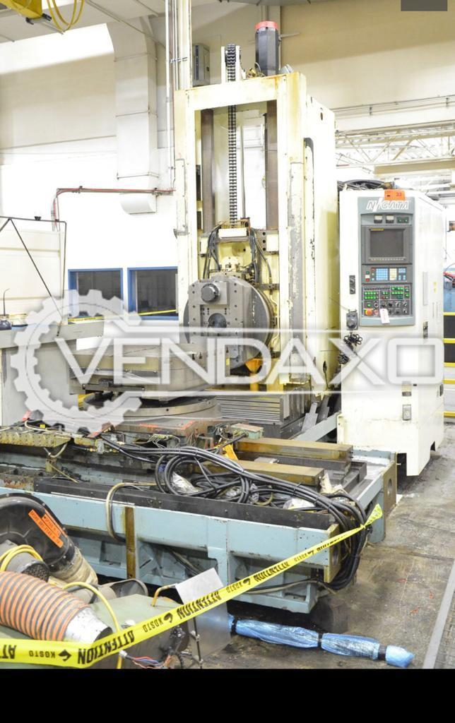 NIIGATA HN80FC Twin Pallet CNC Horizontal Machining Center HMC - Pallets size - 800 X 800 mm