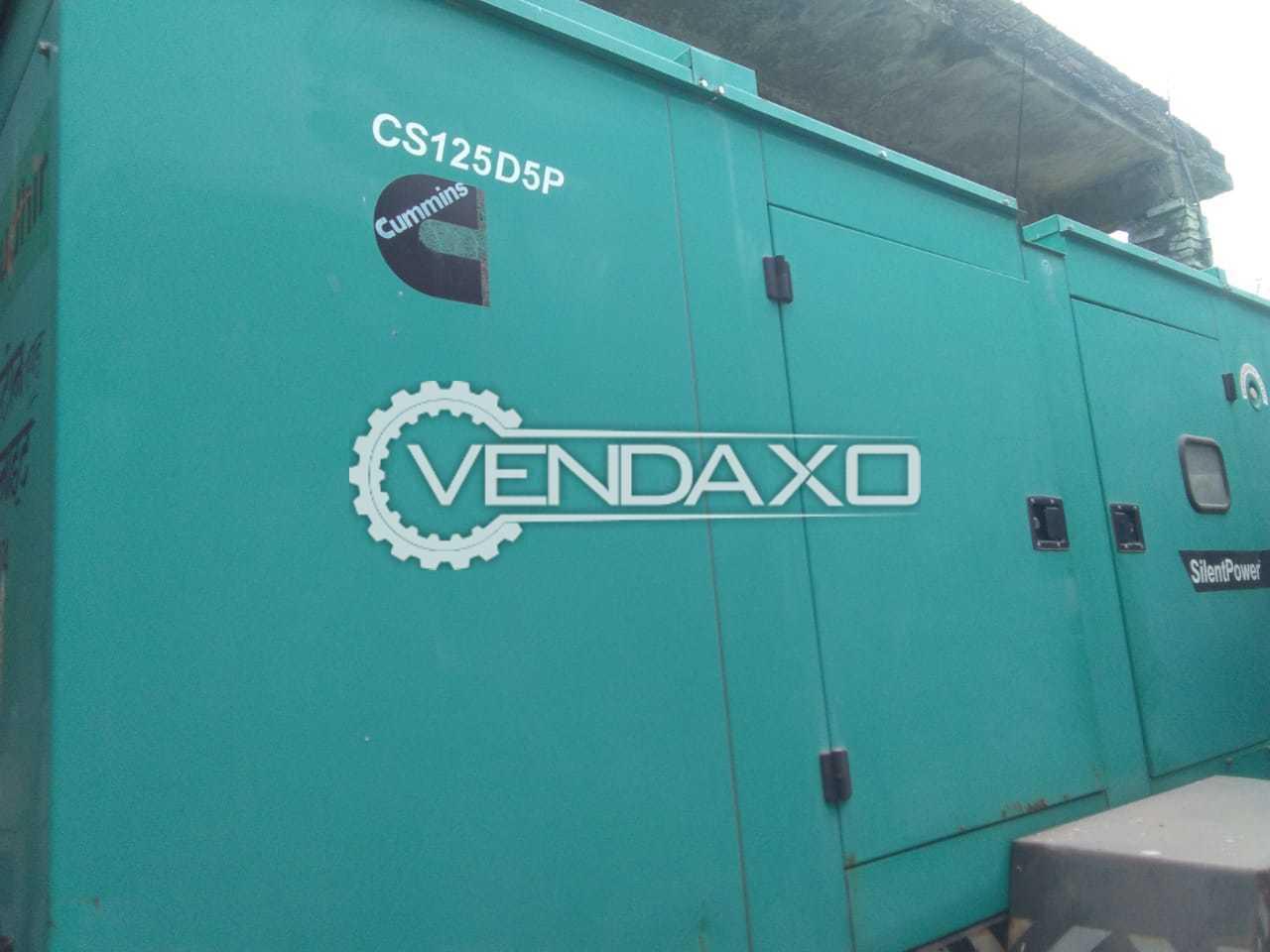 Cummins CS125D5P Diesel Generator - 125 Kva