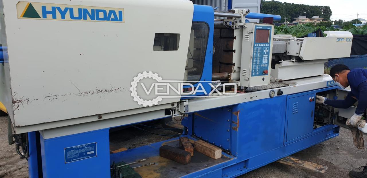 Hyundai SPF-100 Injection Moulding Machine - 100 Ton