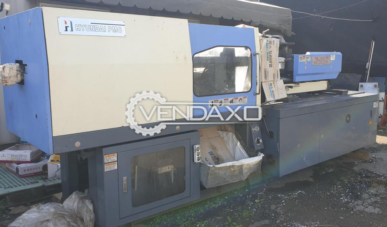 Hyundai Hi-110H Injection Moulding Machine - 110 Ton