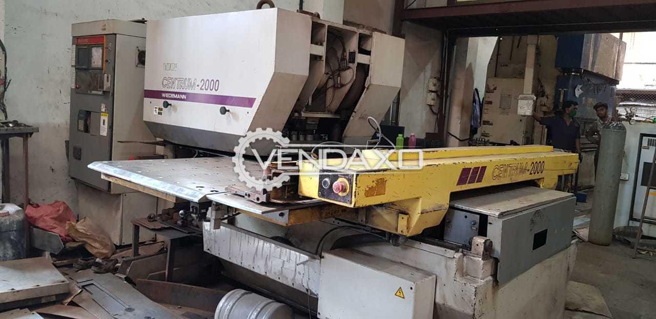 Wiedemann Centrum-2000 CNC Punching Machine - 20 Ton