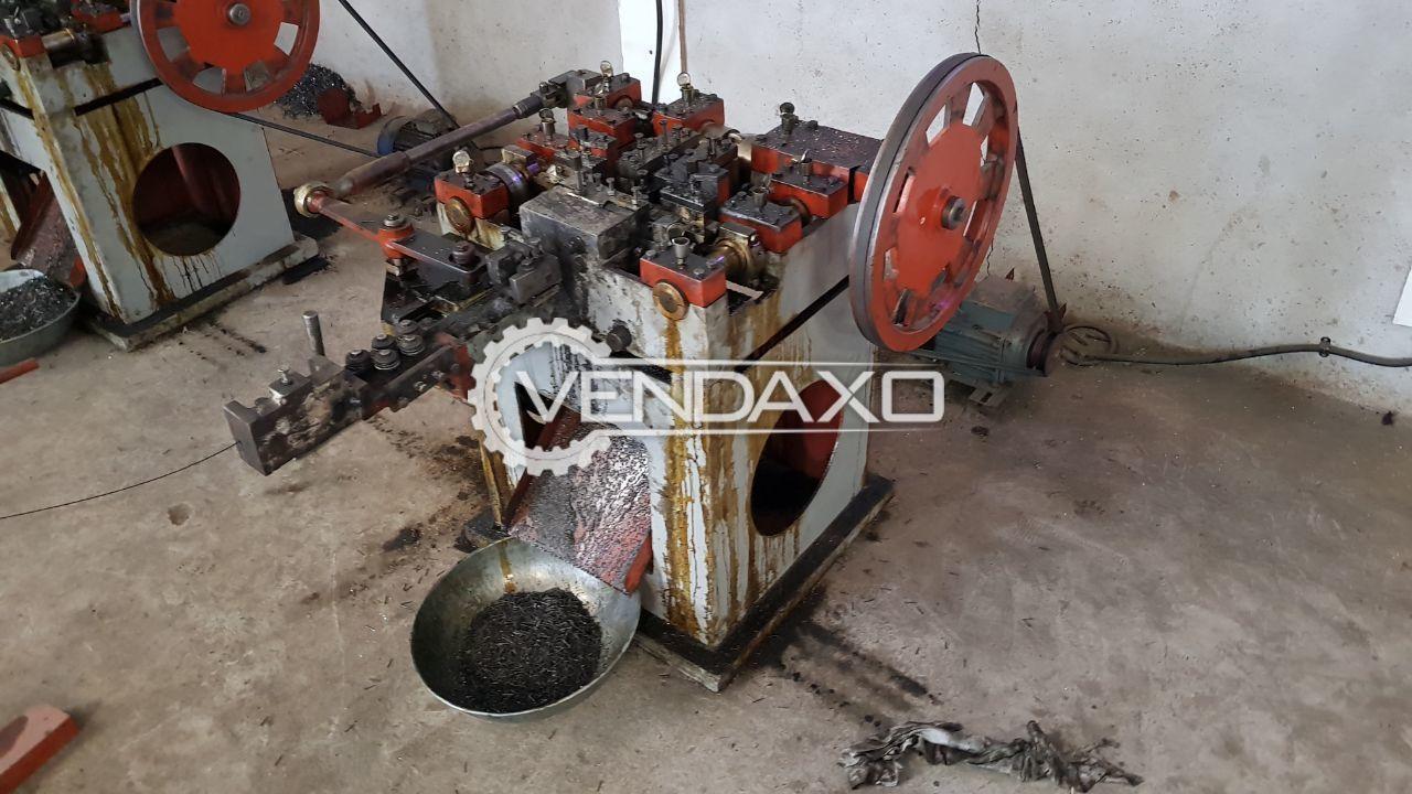 Gurinder GWN-1 Wire Nail Making Machine 17-20 SWG