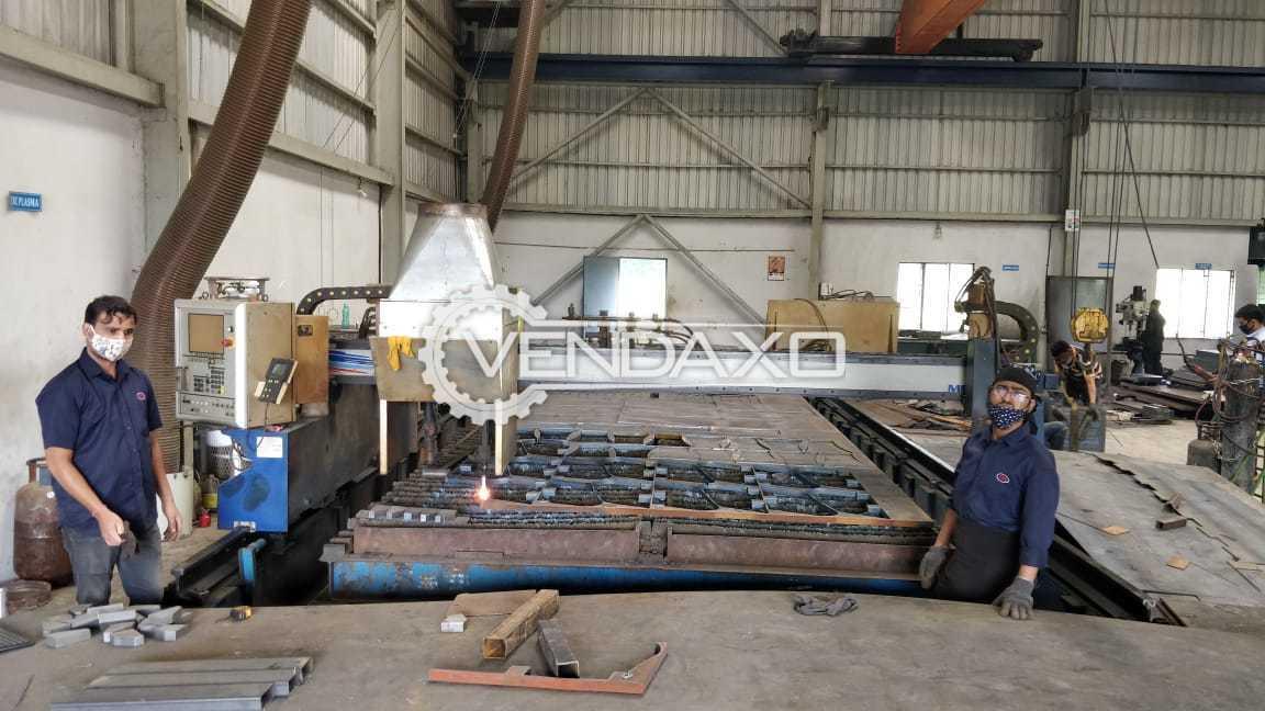 Messer Max 200 Plasma Cutting Machine - Rail Size - 15000 x 4100 mm