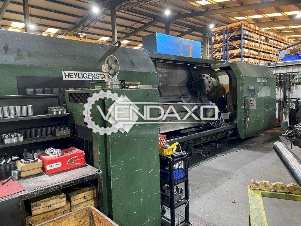 Heyligenstaedt CNC Lathe Machine - 4000 x 720 mm