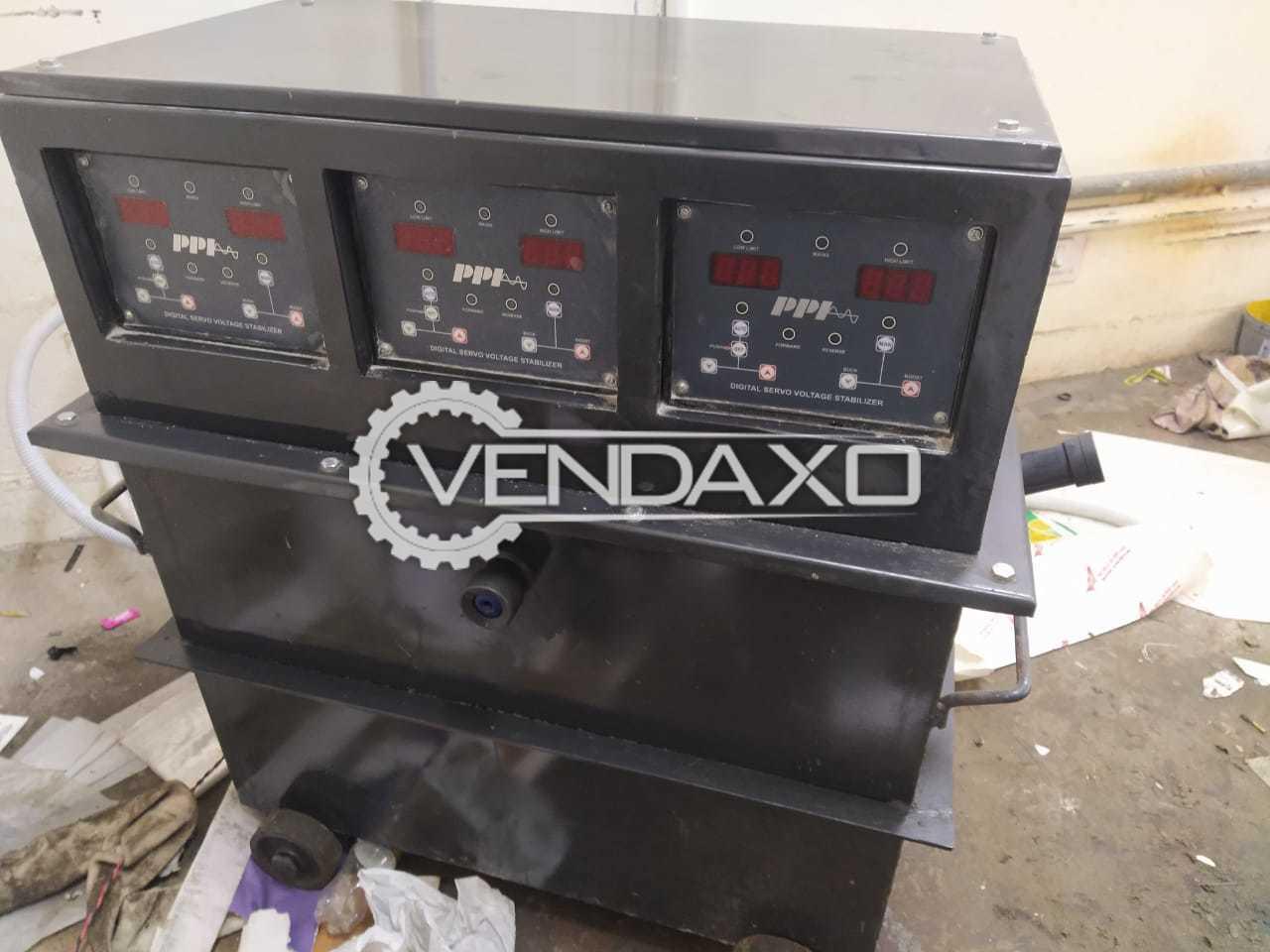 For Sale Used PPI Digital Servo Voltage Stabilizer - 25 Kva