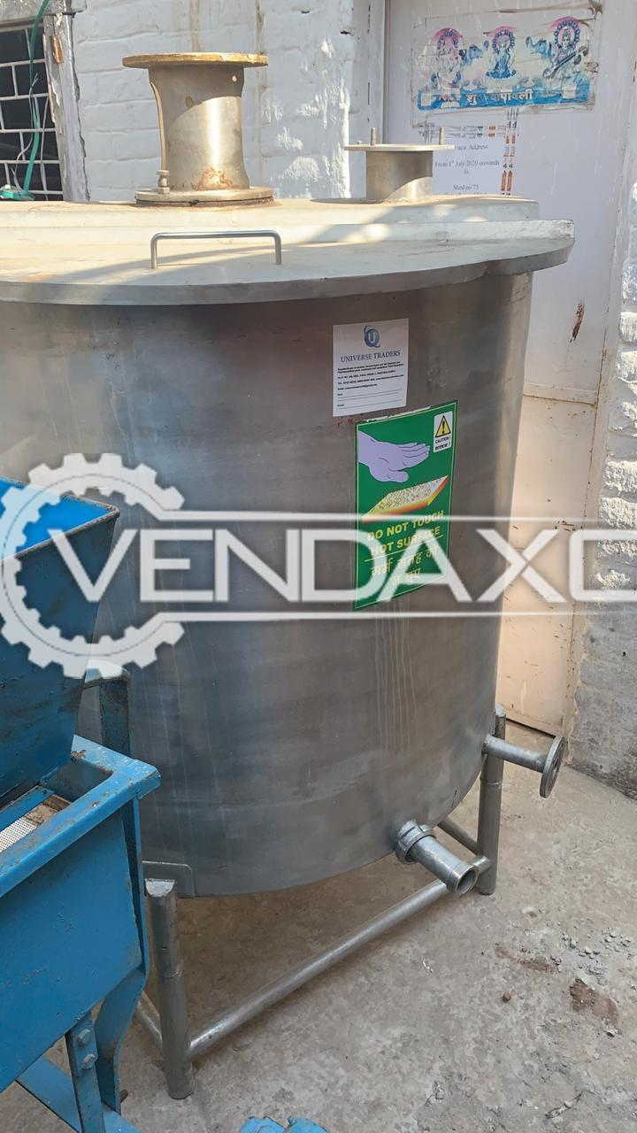 For Sale Used Mixing Vessel - 1000 Liter